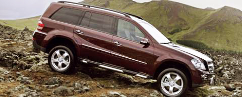 Who says that offroading has to be uncomfortable? The Mercedes Benz GL500 proves otherwise.