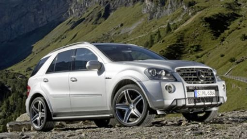 The Mercedes Benz ML 63 AMG is possibly the quickest SUV on the road or off it.