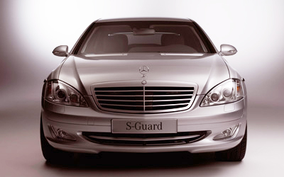 The Mercedes Benz S600 looks good from the front - and from the side, the back, three-quarter view...