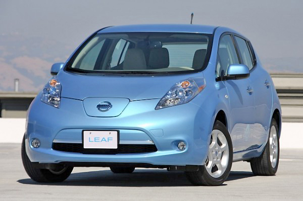 Clean lines keep the Nissan LEAF looking very sharp, indeed.