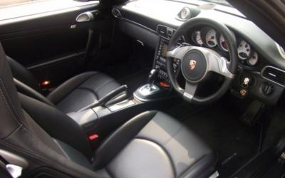 Clean interior styling for the new Porsche 911 Carrera 4 and Carrera 4S models blends sport with luxury.