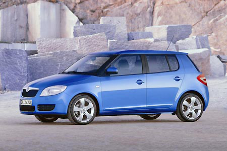 One of the best small cars on the market is the new Skoda Fabia.