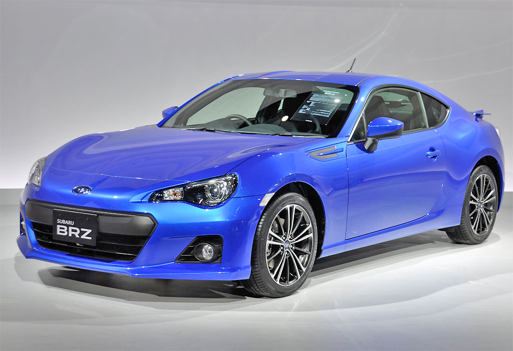 It's the Subaru BRZ that's going to turn heads. Sleek and swift, the BRZ is the next quickie from Subaru.