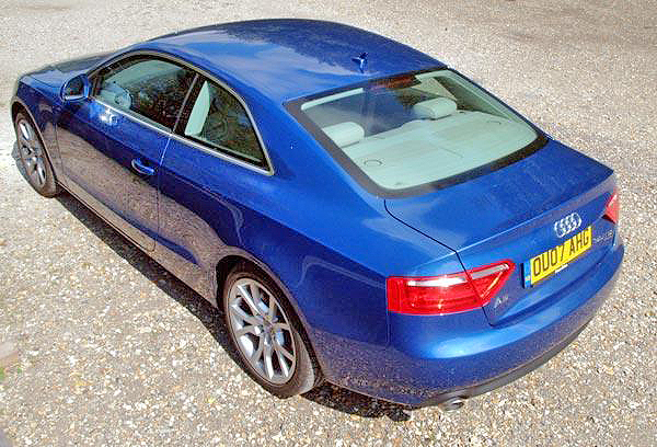 The Audi A5 3.0 TDI compares well in more than just looks.