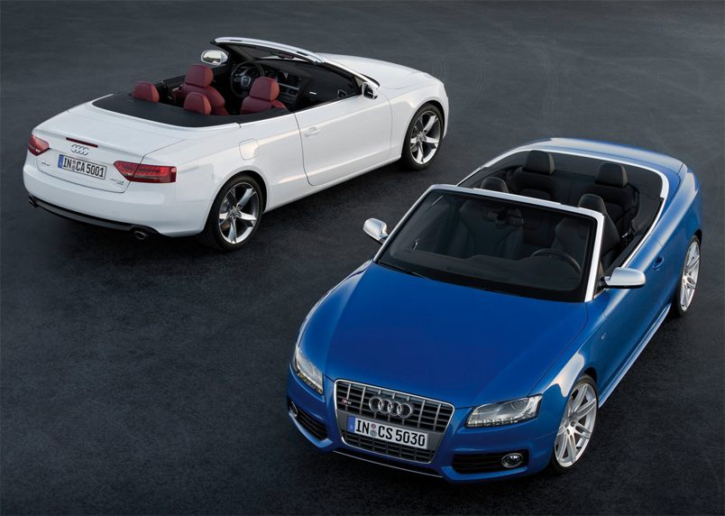 What better way to enjoy driving than in the Audi A5 Cabriolet?