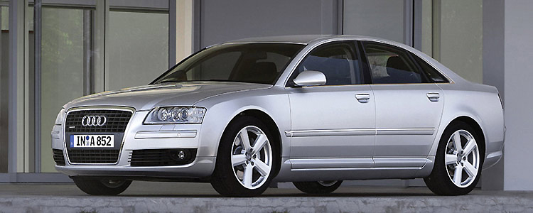 The Audi A8 4.2 TDI Quattro is a stunning-looking luxury vehicle.