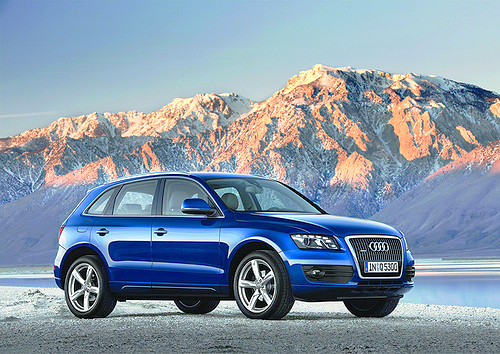 The Audi Q5 3,.2 TFSI looks smooth but can handle the rugged stuff.