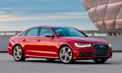 Unmistakably Audi, the smooth lines of the new Audi S6 Sedan are free flowing and elegant.