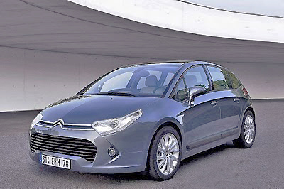 The Citroen C4 has undergone a facelift for 2010.