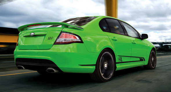 This FPV GS Sedan's green andif you're not the owner, you're also likely to be green... with envy.