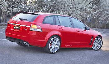 What a wagon. The HSV Clubsport R8 Tourer has to rate as one of the nicest quick estates on the road.