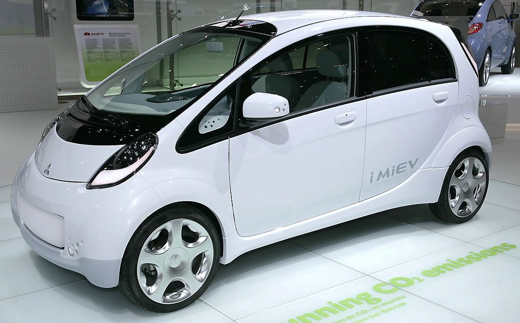 The Mitsubishi i-MiEV is Australia's first all-electric car.