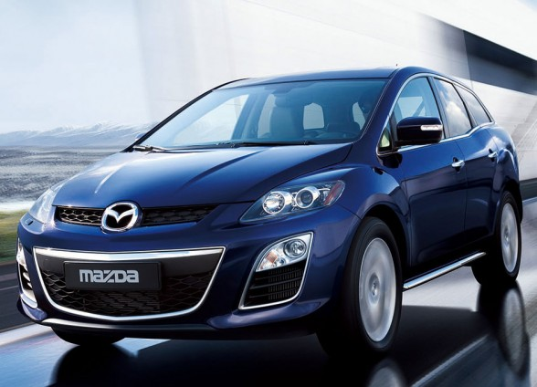 The Mazda CX-7 Classic Sports has clean sedan-like lines as opposed to the chunky looks of many SUVs.