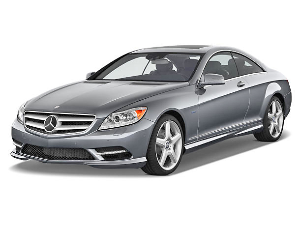 Sleek and spacious, the Mercedes Benz CL-Class is the best luxury coupe available.