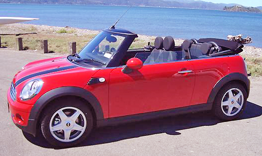 You won't stop smiling after driving the quick little Mini Cabrio models.