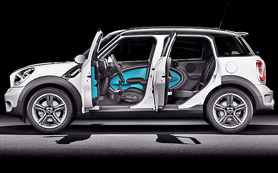 Great cars to be seen in, the Mini Minimalism offers diesel power and great design flair.