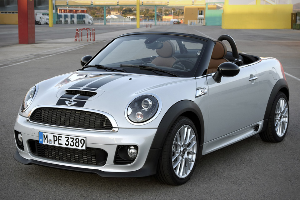 Gorgeous and fun, the Mini Roadster is one pleasant drive out on the town.