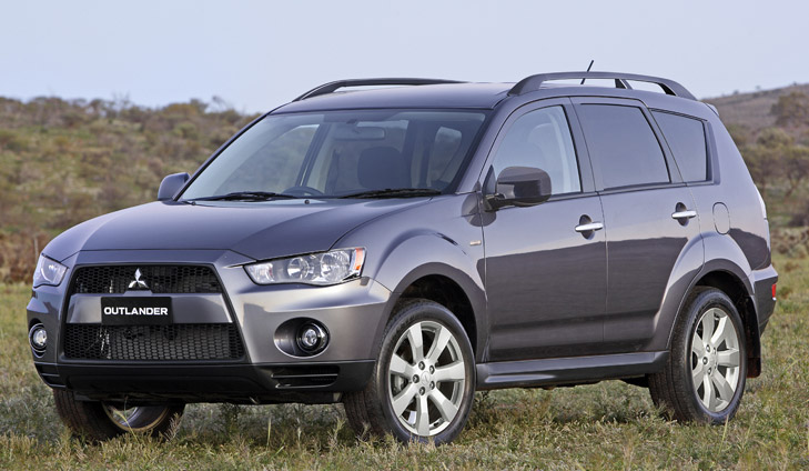Comfortable and roomy, the Mitsubishi outlander is also very safe.