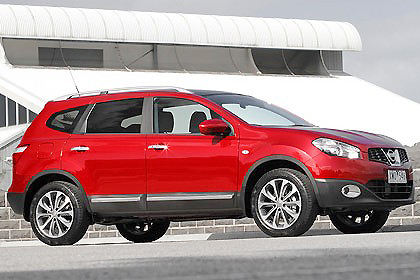 The Nissan Dualis+2 allows two more people to enjoy the trip than the old Dualis fitted.