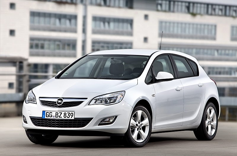 Opel Astra handling and ride are right up there; so you're not going to be too disappointed here.