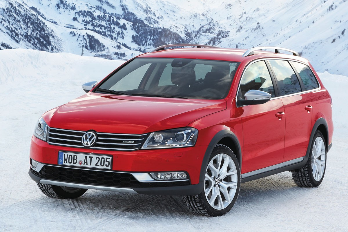Passat Alltrack Review Private Fleet