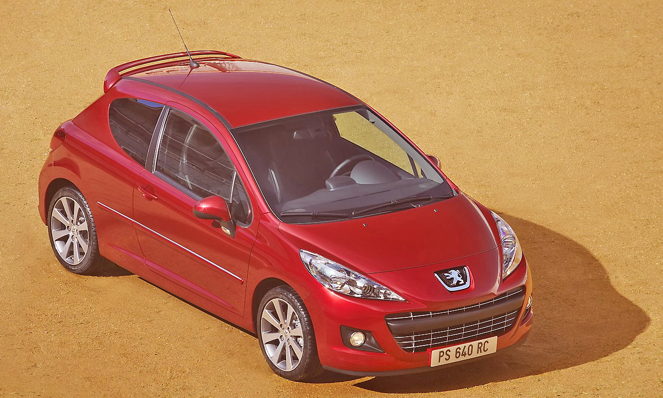 The elegant and sporty Peugeot 207 GTi