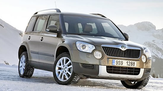 Elegant, roomy and safe, the new Skoda Yeti has all the necessary features to make it great.