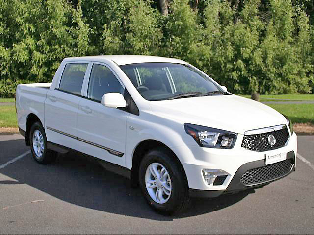 The Ssangyong Actyon Sports has a new face, many features and a class-leading engine.