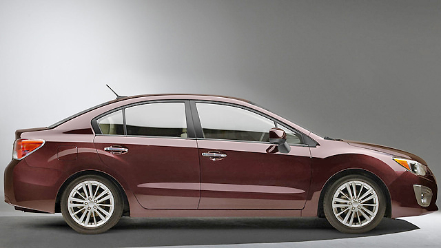 New for 2012, the Subaru Impreza has the right mix of style and performance.