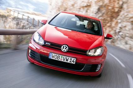Watch out, all you tamer cars - the Volkswagen GTi's coming after you!