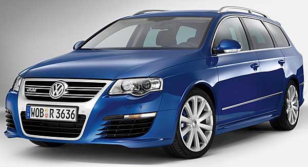 The styling of the Volkswagen Passat R36 are subtly sporty without being vulgar.