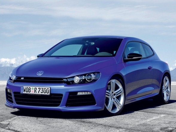 The Volkswagen Scirocco is a masterpiece of design.