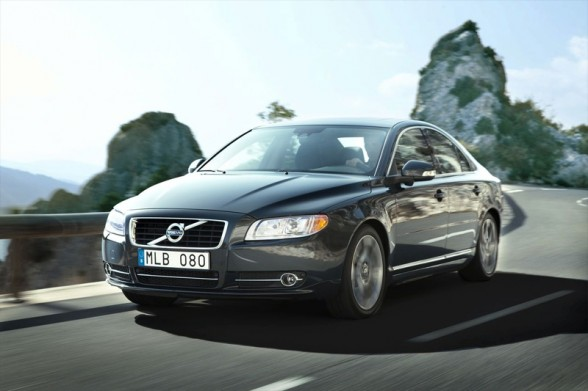 Wouldn't you just love to be in the driver's seat of the Volvo S80?