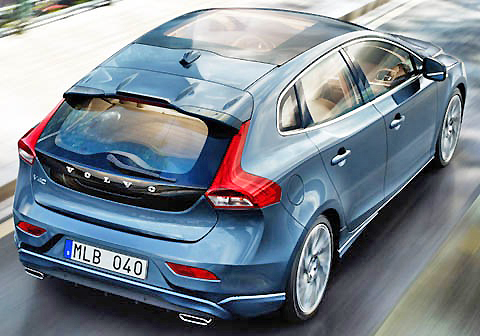 This is nice. The Volvo V40 is a special wagon.