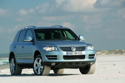 The Volkswagen Touareg R5 TDI has the torque of diesel on tap for towing or off-roading.