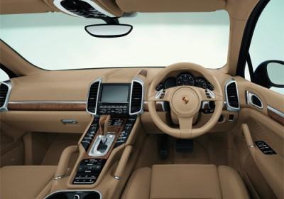 Porsche Macan Turbo interior.