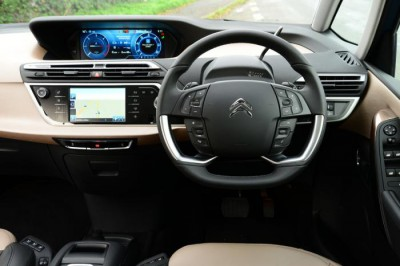 Grand C4 Picasso cockpit