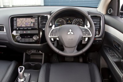 Outlander PHEV interior