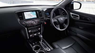 2014 Nissan Pathfinder dashboard