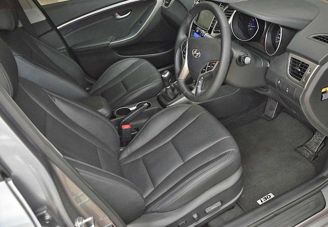 Hyundai i30 sr private fleet for Interior hyundai i30