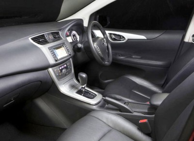 Nissan Pulsar Hatch Interior