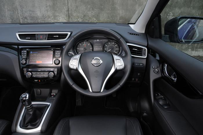 Nissan qashqai private fleet for Interior nissan qashqai