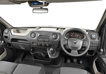 Renault Master Cab Chassis Interior