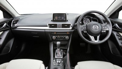 Inside the Mazda 3 Hatch Astina interior