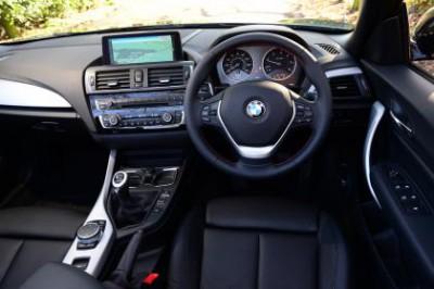 BMW 2 Convertible Interior