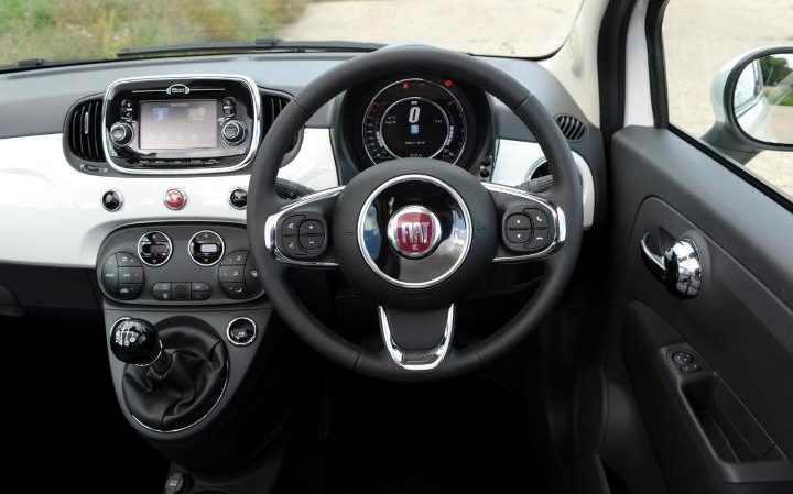 Fiaat 500 s private fleet for Fiat 500 interieur