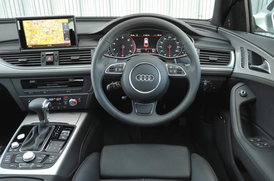 Gamemakertechinfo Images Audi A6 Interior Night