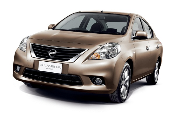 A new Nissan Almera offers a stylish, affordable package.