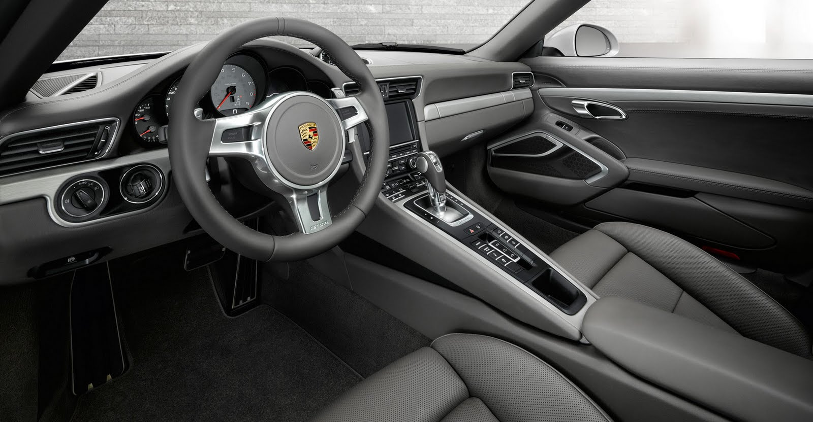 build quality and style are superb in the refined new porsche 911 carrera