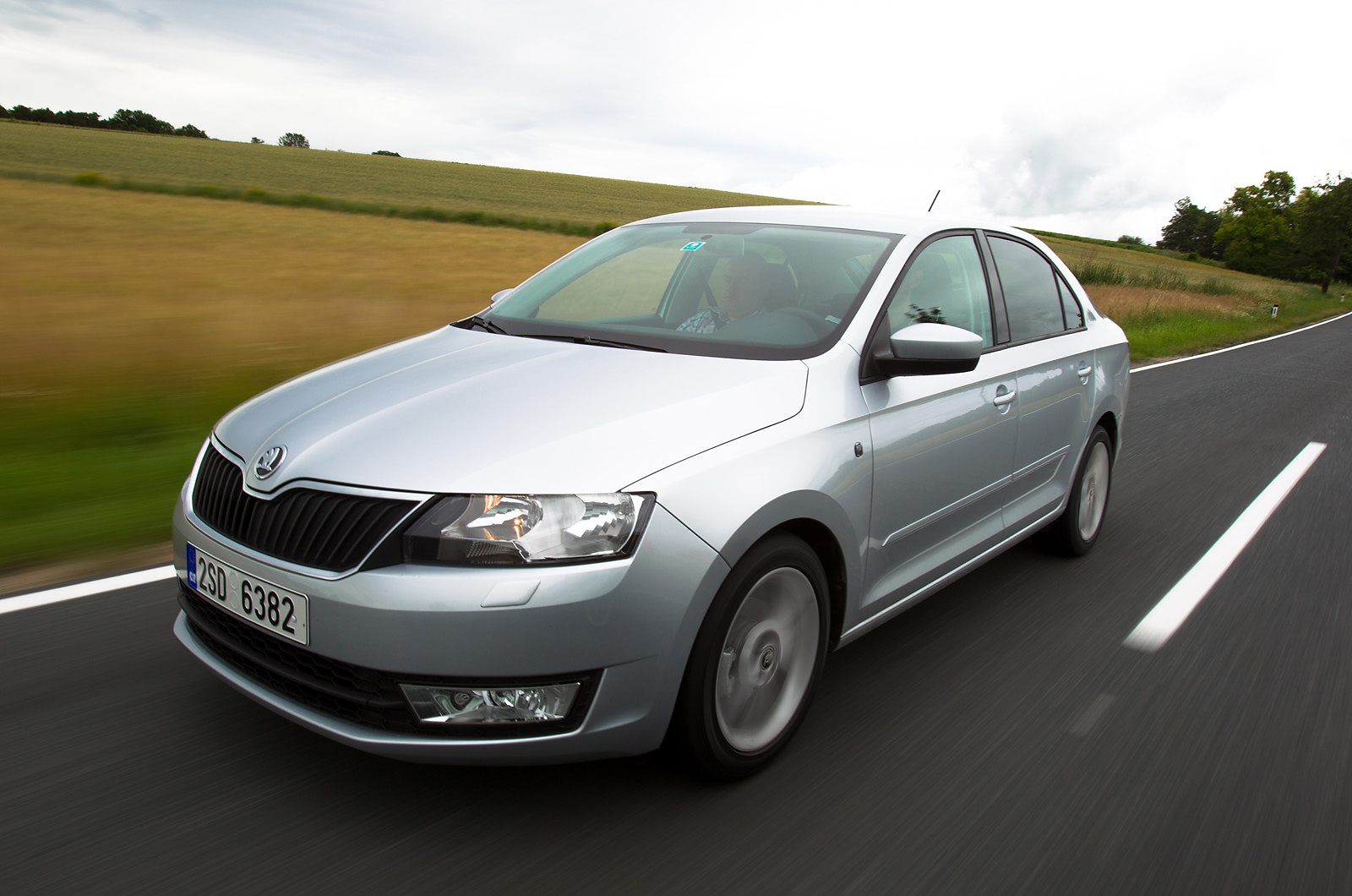 Crisp lines allow the Skoda Rapid to slip through the air quietly. With its emphasis on frugality and practicality, the Škoda Rapid is likely to be a winner with the Yummy Mummy market segment.